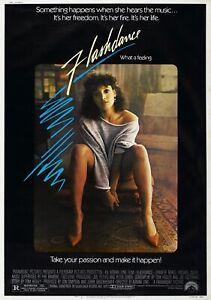 FLASHDANCE Classic 80's Vintage Movie Poster - Wall Film Art Print Dirty Dancing