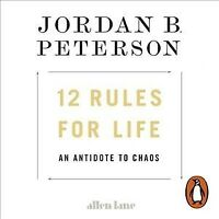 12 Rules for Life : An Antidote to Chaos, CD/Spoken Word by Peterson, Jordan ...