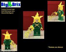 ELECTRO Custom Printed & Inspired Marvel LEGO Villain Minifigure