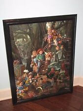 "BOB BYERLEY ""The Laughing Place"" Giclee Canvas Signed 345/395 Hand Highlights!"
