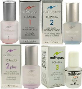 Nailtiques All Formulas Nail Protein All Sizes (4ml 1/8oz 7ml 1/4oz, 15ml 1/2oz)