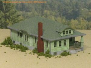 HO Scale The Hamilton House 3D printed kit High Detail (Gray)