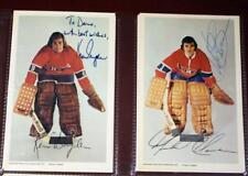 1972 Montreal Canadiens Signed 22 Postcard Set Ken Dryden Plasse Richard Lafleur