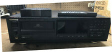 Kenwood DP-M5520 CD Player- 6 Disk Magazine with Remote