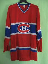 Maillot Hockey Glace Canadiens Montréal Vintage Sandow Sporting Knit - M