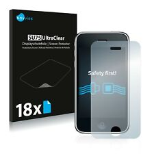 18x Savvies Screen Protector for Apple iPhone 3GS Ultra Clear