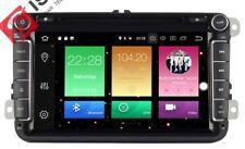"AUTORADIO 8"" Android 8.0 Octa Core 4gb Vw Golf Passat Polo Tiguan Skoda Seat USB"