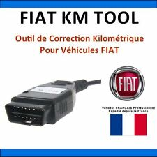Interface FIAT KM TOOL V1.5 - Correction Kilométrique via OBD - TACHO PRO / ELM
