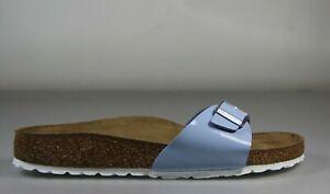 Birkenstock Madrid 1019431 Patent Dove Blue