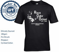 New Rory Gallagher Tribute T Shirt, Rorys Guitar School - size S - XXL