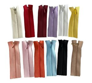 Mini short sewing zipper closed end zip 8cm for doll clothes various colours