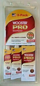 Wooster Pro Polyester/Nylon Brush 3 Pack