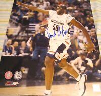 Emeka Okafor autographed signed UConn 2004 NCAA Championship 16x20 poster photo