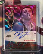 2019-20 Panini NBA HOOPS RC Rookie Ink Auto Keldon Johnson Spurs 17/25