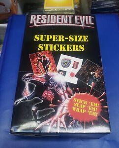 Resident Evil Super Size Sticker Box - Extremely Rare