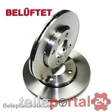 2x Frenos de Disco Discos Frenos para Audi A6 C6 Eje Delantero Para 1L