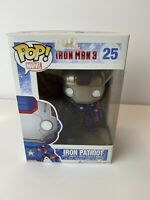 Funko POP! Marvel Iron Man 3: Iron Patriot Vinyl Figure Vaulted W/Protector #25