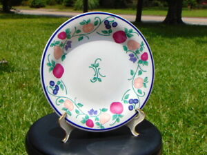 Princess House Crystal (Orchard Medley Dinner Plate) set of (1) REPL.