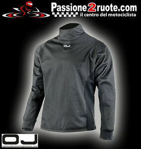 Inner Thermal Jacket IN Windproof Fabric Motorcycle Scooter Atv Off Road Cross