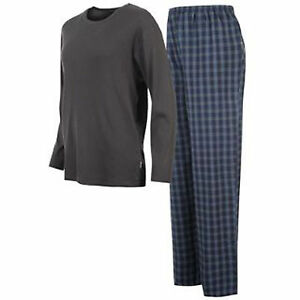 MENS PYJAMAS ALL SIZES 2 PIECE LONG SLEEVE/BOTTOMS BY PROPELLER NEXT DAY POST