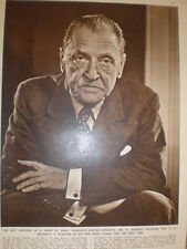 Photo article novelist W Somerset maugham 1951