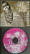 DAVID RUSH LMFAO & PITBULL Shooting Star MIX & 2 INSTRUMENTAL PROMO DJ CD single