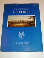 The Colleges of Oxford - Ariel Press 1964, great prints
