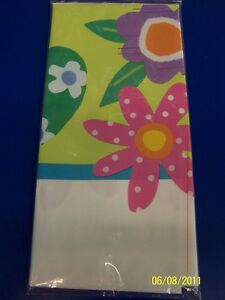 Casual Eggs Easter Spring Holiday Party Plastic Tablecover