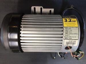 Spotrsart Treadmill drive motor 3.2 HP TR33,32,31 With Speed Sensor