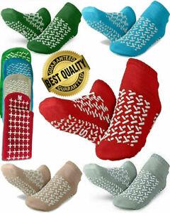 Hospital Non Skid Slip Tread Fitness Yoga Patient Travel Slipper Socks Maternity
