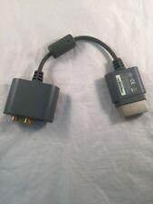 Adaptador de Audio oficial Microsoft Xbox 360