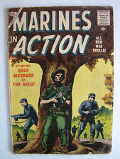 Marines in Action #9 (Nov 1956, Atlas / Marvel) [VG 4.0]