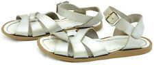 The Salt Water Sandal Little Girls Sz 12 Leather Summer Ankle Strap Sandals