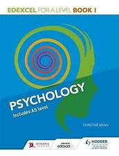 Edexcel Psychology for A Level: Book 1 by Christine Brain (Paperback, 2015)