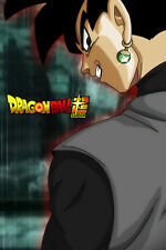 Dragon Ball Super Poster Goku Black Grinning 12in x 18in Free Shipping