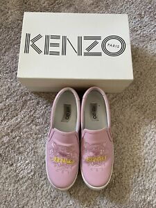 Kenzo Women's Pink Sneakers Size 40 Authentic