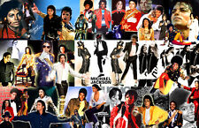 Michael Jackson Collage Poster