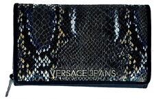 Portafoglio Donna Blu Versace Wallet Woman Blue