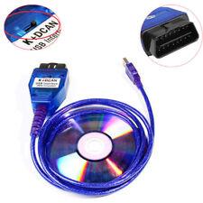 BMW USB - OBD K + Dcan Diagnostic Cable Switched INPA DIS SSS NCS Coding (L149)