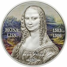 5$ 2017 Palau - Art Revived - Mona Lisa Revived