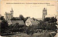 CPA  Briis-sous-Forges - Le Donjon d'Anne de Boleyn et l'Eglise  (489165)