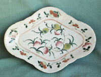 Vintage Antique Chinese Plate Scalloped Edge Republic Period Mark