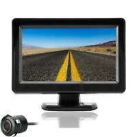 "4.3"" TFT LCD Digital Car Rear View Monitor + Night Vision Reversing Camera IP67"
