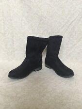 Arizona Jeans Black Suede Boots, Women's Shoes, Size 7M