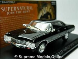 SUPERNATURAL CHEVROLET IMPALA MODEL CAR 1:43 SCALE GREENLIGHT 86441 K8967Q~#~