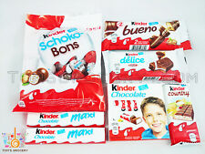 Ferrero KINDER Chocolate Selection Mix Bueno Country Delice Schoko-Bons Maxi