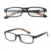 Trendy Unisex Reading Glasses+1.0+1.5+2.0+2.5+3.0+3.5+4.0Near Lenses Lightweight