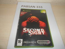 XBOX - SECOND SIGHT , PAL ESPAÑOL , COMPLETO