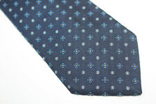 HOLLIDAY & BROWN Silk tie Made in ENGLAND E95372