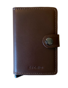Secrid New Miniwallet Original - Dark Brown